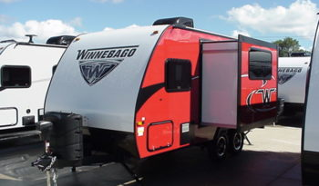 2018 WINNEBAGO Micro Minnie 1808FBS * Cherry With Graphite Interior Décor *Slide Out * Front Queen Bed * 3560 Lbs. Dry * Stk #1844TR full