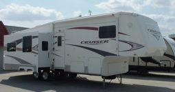 2008 Crossroads Cruiser CF30SK 3 Slide 5th Wheel * Stk. # 11384RV
