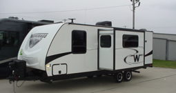 2019 WINNEBAGO Minnie 2455BHS * Front Queen & Rear Dbl. Bunk Beds * 5320 Lbs. Dry Weight * Outdoor Kitchen * Stk.  11417TR