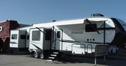 2020 Shasta Phoenix 381RE * 5 Slides  * 4-Point Auto Leveling * Espresso Décor * 12,254 Lbs. Dry Weight * STK # 2029TR