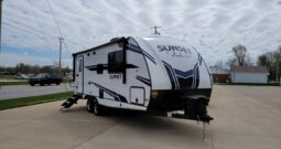 2021 Crossroads Sunset Trail Super Lite 212RB * 4889 Lbs. Dry Weight * Rear Bath * King Bed * Stk. # 2190TR
